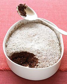 Chocolate Pudding Cake-Martha