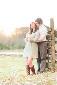Lakeside engagement