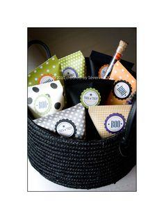 halloween treat bags, sweet parti, halloween parties, treat halloween, halloween party favors, idea collect, halloween treats, parti idea