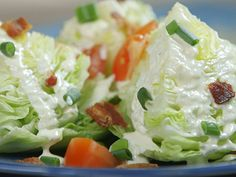 Try this recipe for Blue Cheese Wedge Salad from Kimberly's Simply Southern featured on GAC!