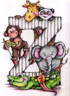 Another image from Jen's Flickr portfolio - isn't she a clever artist? Her pics are always bright and fun. Check out her other stuff and freebies on Pop Art Minis. #art #alphabet #letter