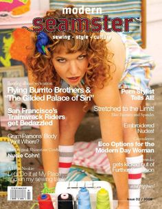 Modern Seamster magazine issue 2 #sewing #craft #free