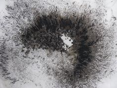 Drumhead by Emil deWaal | embroidery, 2011 |  DETAIL