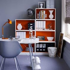 cute home office | cute and tidy home office 2