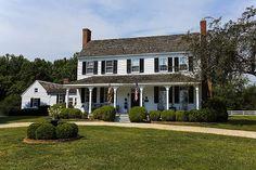Sunnyside  1844 Center Hall Colonial  Aquasco, Maryland