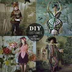 DIY: 4 Elegant Costumes //petitapetitandfamily.com