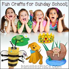 Fun Crafts for Sunday School from www.daniellesplace.com