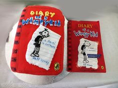 Inspired by Diary of a Wimpy Kid by Jeff Kinney edibl book, diari, wimpi kid
