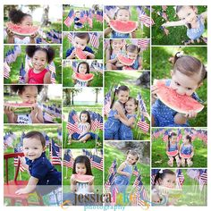 4th of July Photo Shoot #kids