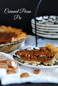 Caramel Pecan Pie   www.you-made-that.com