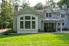 Bay Window Design Ideas, Pictures, Remodel, and Decor; A box bay; a box literally attached to the ground