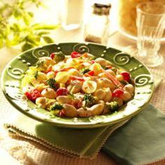 CREAMY SHELL PASTA SALAD Pasta Salad