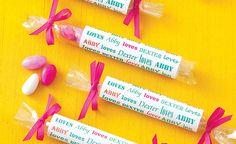 wedding favors edible wedding favors