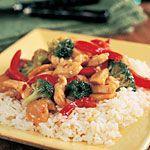 Garlic Turkey-Broccoli Stir-Fry and 9 other under 300 calorie stir-fry meals