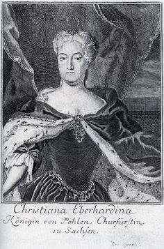 Christiane Eberhardine, wife of August II, queen of Poland