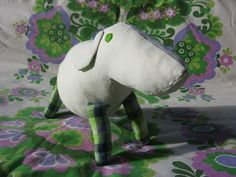 Free Pattern Softie Sheep
