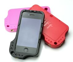 Diff Case Fits iPhone 4, 4S AT&T, Verizon, Sprint.    (Works with most screen films)