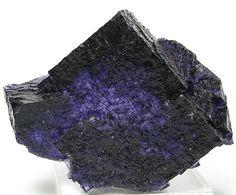 Dark Purple Fluorite Crystal Elmwood Tennessee by FenderMinerals,