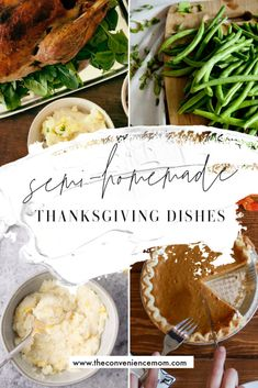Semi-Homemade Dishes for Thanksgiving - The Convenience Mom