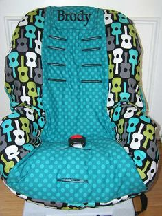 Custom BRITAX Car Seat Cover REPLACEMENT or Slip Cover........GUITARS and Dots on Etsy, $59.99