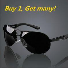 Genuine Mens polarized sunglasses Toad glasses for men Driver sun glasses for sale (GIFT !! night vision driving glasses!)