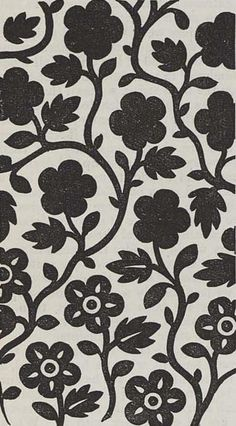Printed textile design, produced by Hargreaves in 1849.
