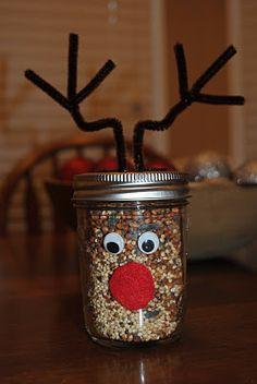 Toilet paper tube reindeer christmas craft pinterest