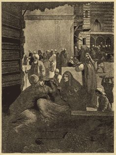 "Illustrations from Richard Burton's ""Thousand Nights and a Night"" (http://web.archive.org/web/20010123232200/http://www-personal.umich.edu/~spalding/burton/#)"