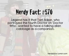 A Doctor Who Fact