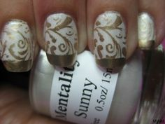Mentality Sunny plus gold stamping = stunning!