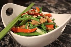 Kung Pao 'Chicken' & Vegetables
