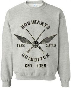 HogwartsQuidditch by BreDixonClothing on Etsy, $31.00