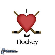 I love hockey