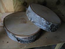 Birch Tree Cake Stand $26 Whispering Pines Catalog
