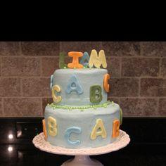 Baby shower cake for Lisa