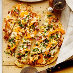 Get the recipe for BBQ Chicken Pizza.