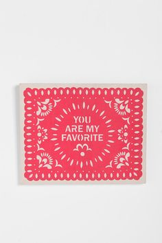 You Are My Favorite Wall Art  #UrbanOutfitters
