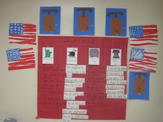 Kindergarten Smiles: America. I'm going  to use these ideas to make a lapbook
