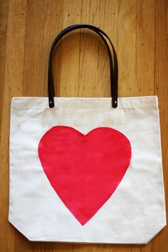 DIY Canvas Tote