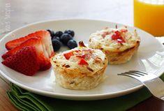 Hash Brown Egg White Nests | Skinnytaste