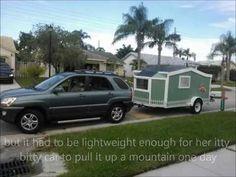 Tiny House cargo trailer DIY build - YouTube
