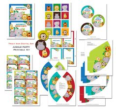 Cute Zoo printables