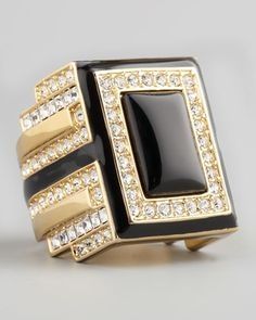 Art Deco Ring - Neiman Marcus