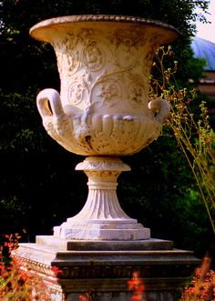 Andrew Jackson Downing Urn in the Haupt Garden | by Flickr member robej037