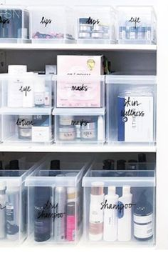 The Very Best Beauty Product Organizers, According to Professionals at The Home Edit