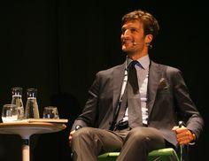 Rafael de Medina participó en el Premiumfest de Bilbao para hablar de las claves del éxito de su firma de moda masculina, 'Scalpers'
