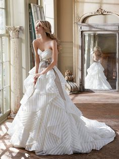 gorgeous Hayley Paige gown - available at Nordstrom Wedding Suites  http://rstyle.me/n/cdshgpdpe