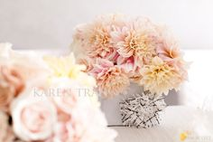 Cafe au lait dahlia is just perfect for the blush colored wedding.