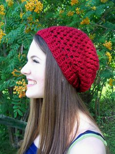 Slight Slouchy #Crochet Pattern