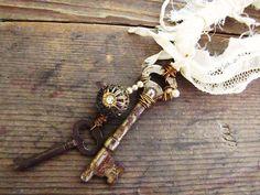 pisces, key creationinspir, skeleton keys, couture, skeletons, pisc creationinspir